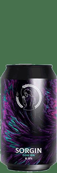 Bière DDH IPA Sorgin de la Brasserie la Superbe