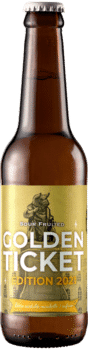 Bouteille de bière Golden Ticket Berliner Weisse Mirabelle Piggy Brewing Company