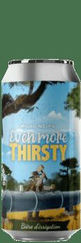 Canette de bière Even More Thirsty Micro Neipa Piggy Brewing Company
